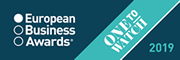 European Business Awards - One to watch 2019